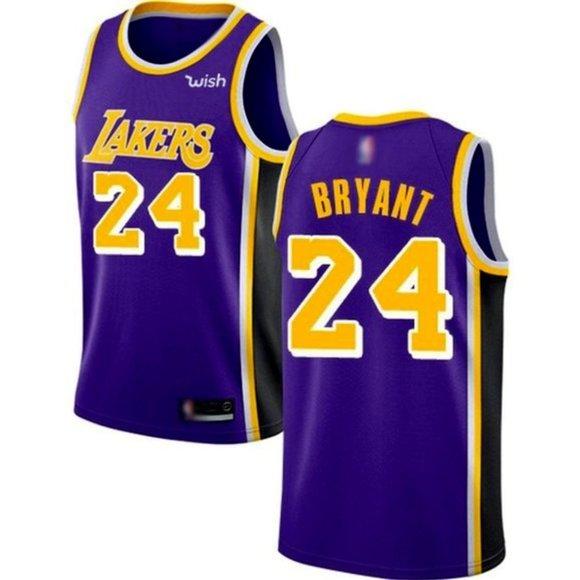 Shirts   Los Angeles Lakers 24 Kobe Bryant Purple Jersey   Poshmark